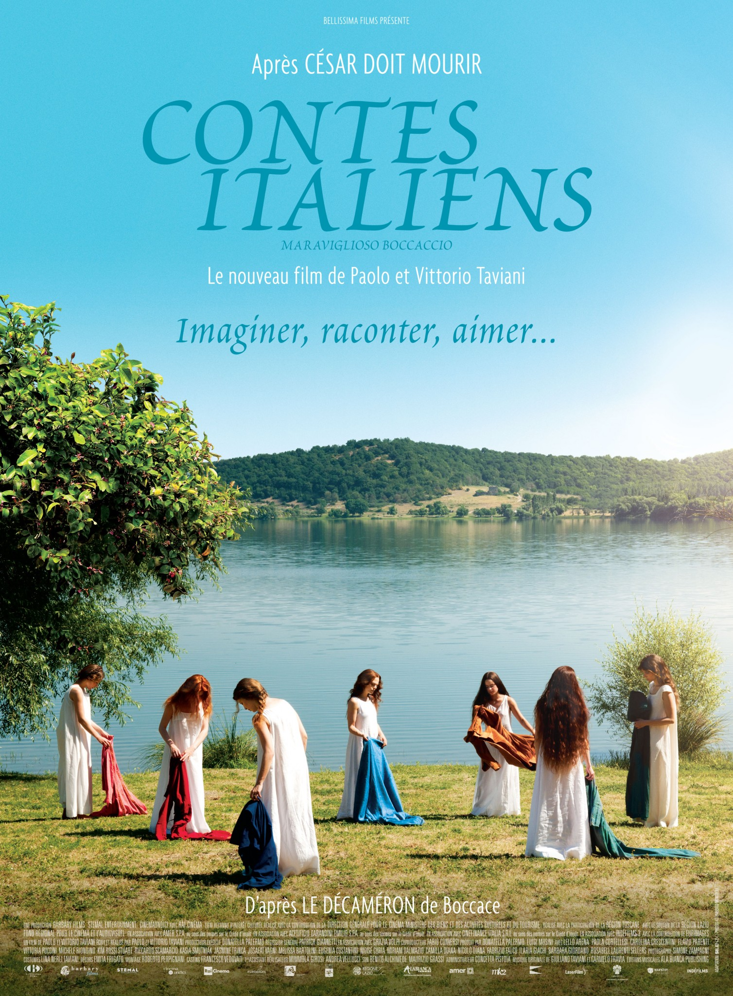 Contes italiens - poster