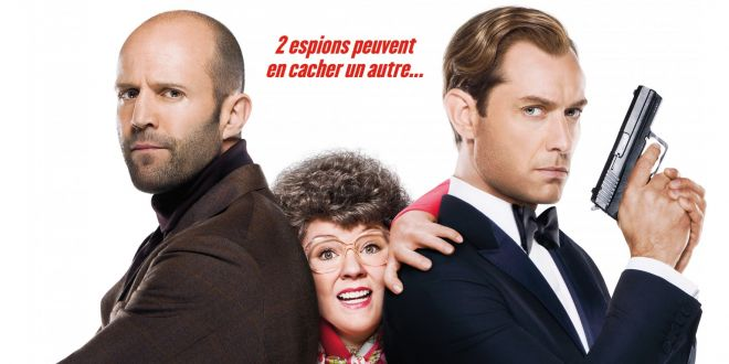 <i>Spy</i> (2015), un trio d'espions très spécial ! 1 image
