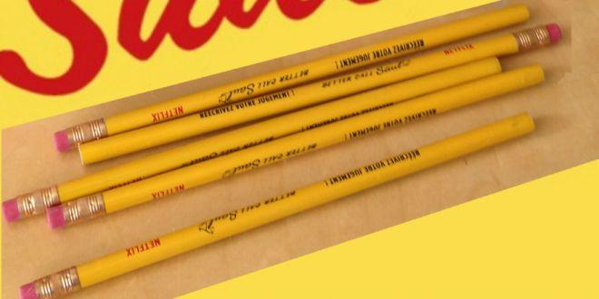 Better Call Saul - crayons à papier