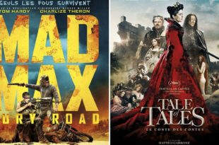 Mad Max: Fury Road + Tale of Tales affiches films cinéma