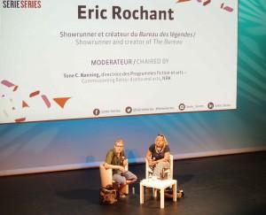 Masterclass Eric Rochant - SérieSérie - copyright Denis Tison