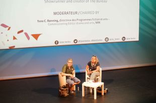 """Masterclass Eric Rochant (""""Le Bureau des Légendes"""" saison 1) 2 image"""