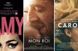 Amy, Mon Roi et Carol affiches films cinéma
