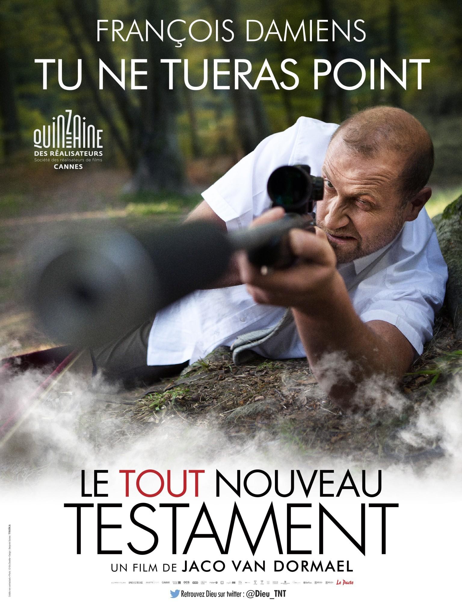 Le Tout Nouveau Testament - Affiche personnages