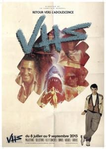 Exposition VHS - affiche