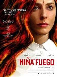 La Nina de Fuego - affiche