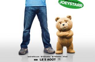 Ted 2 de Seth MacFarlane affiche film cinéma
