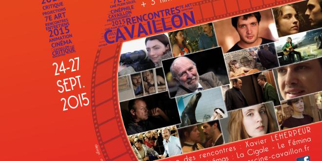 Rencontres Cinématographiques de Cavaillon 2015 - affiche