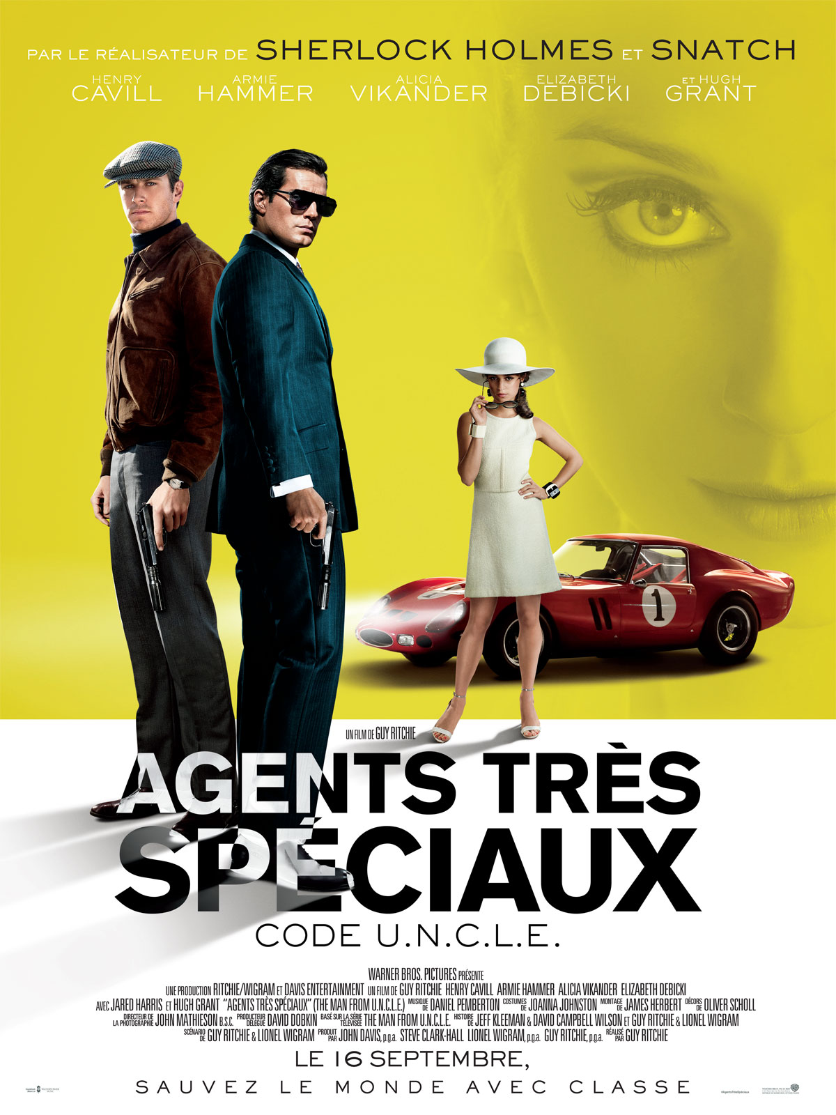 Agents très spéciaux - Code U.N.C.L.E_affiche