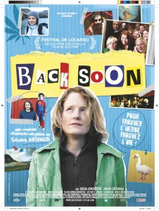 Back Soon - affiche