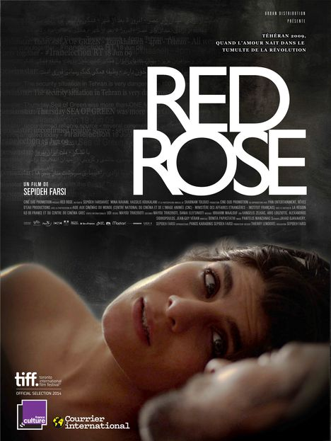 Red Rose - affiche