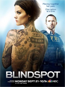 Blindspot saison 1 - poster