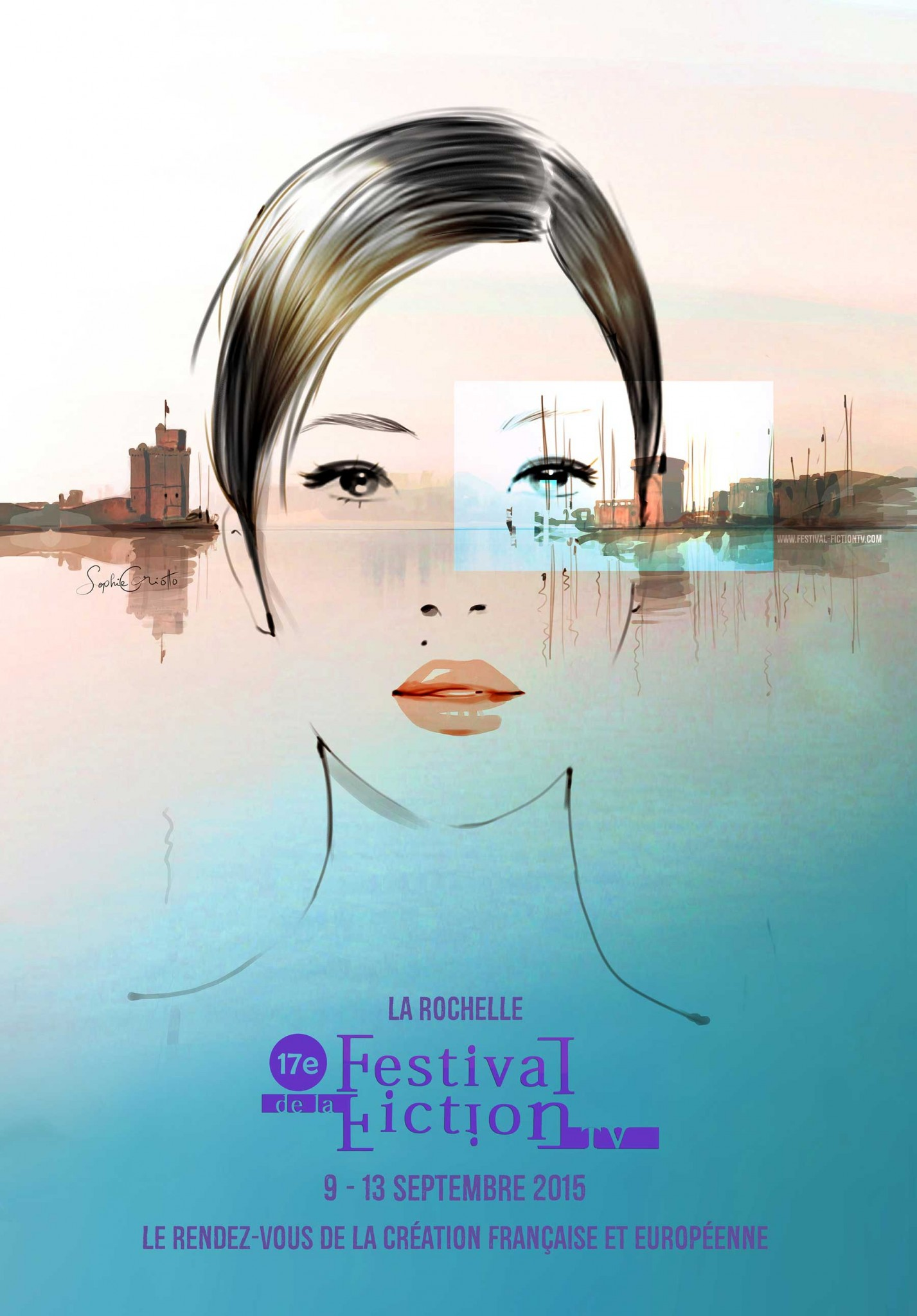 Festival de la Fiction TV 2015 - affiche