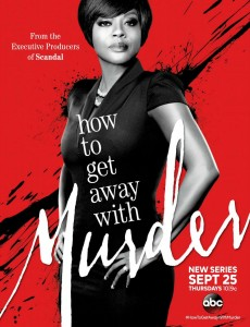 How to get away with murder saison 1- poster
