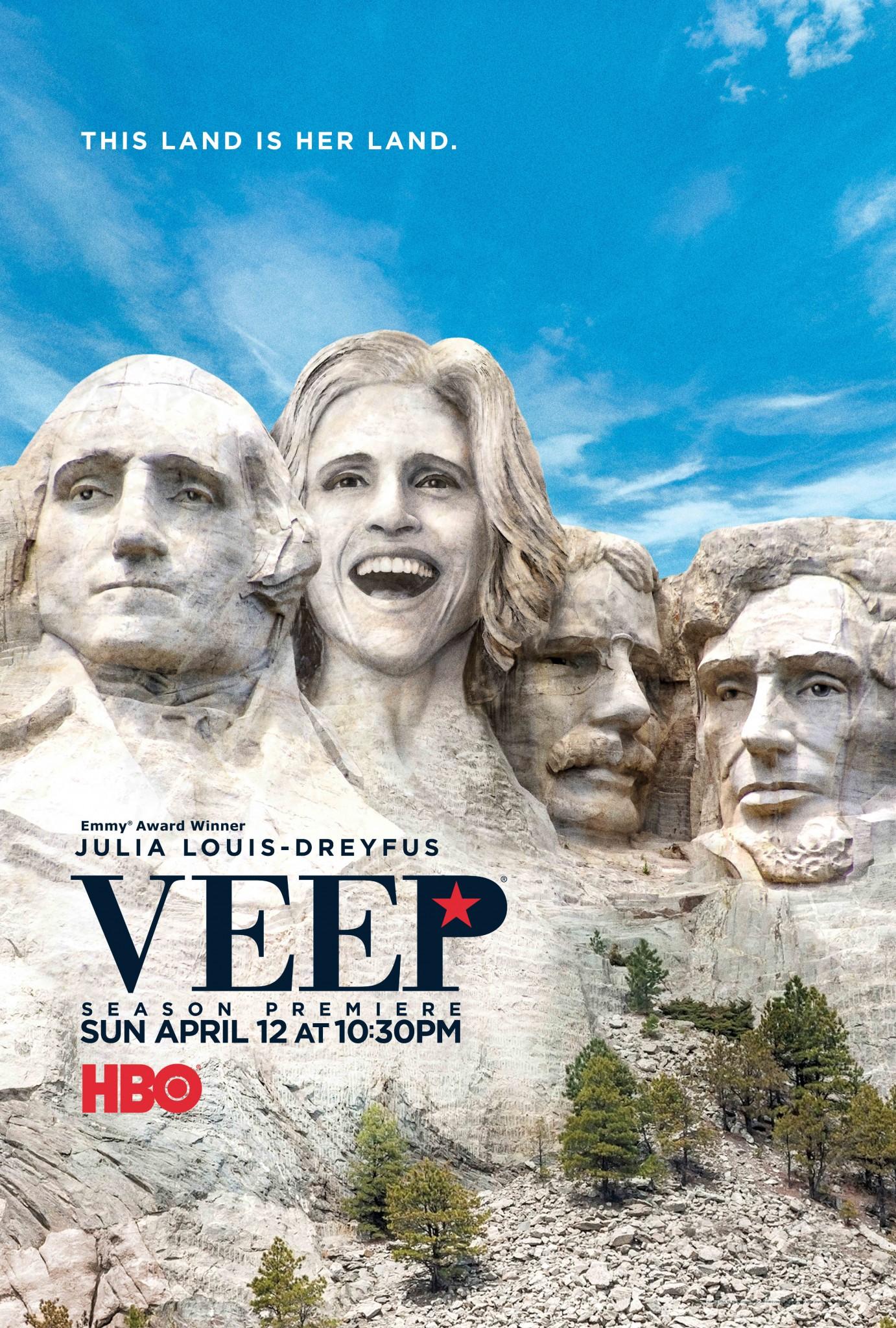Veep saison 4 - poster