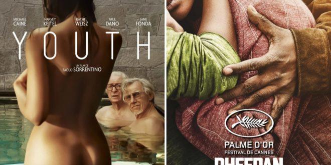 Youth de Paolo Sorrentino et Dheepan de Jacques Audiard affiches films cinéma