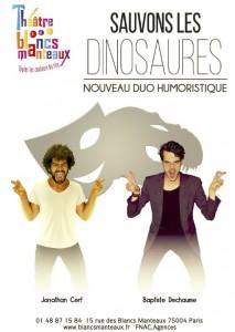 Sauvons les dinosaures - affiche