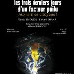Les Trois Derniers Jours d'Un Facteur Poilu - affiche