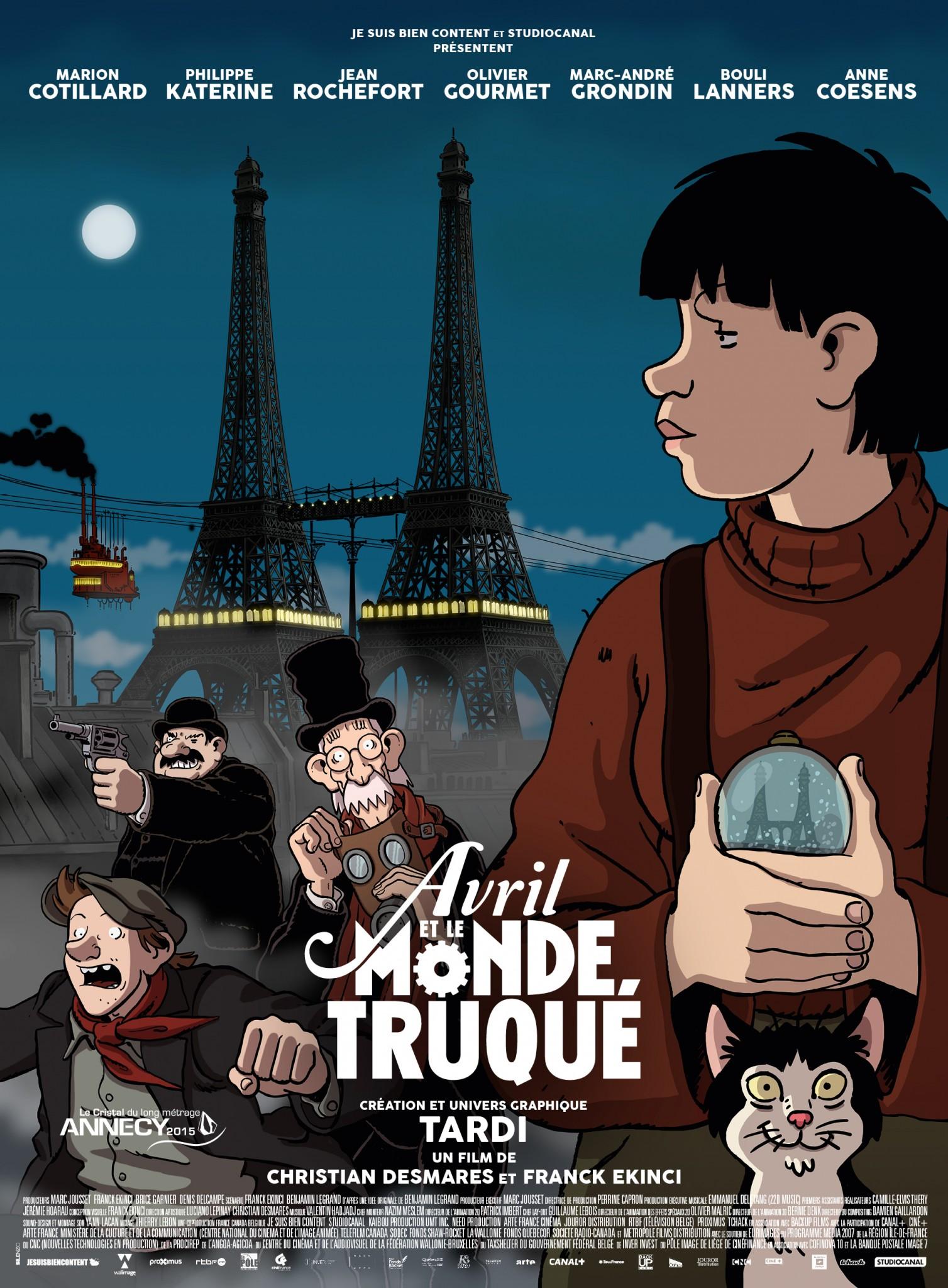 Image Result For Avril Et Le Monde Truque