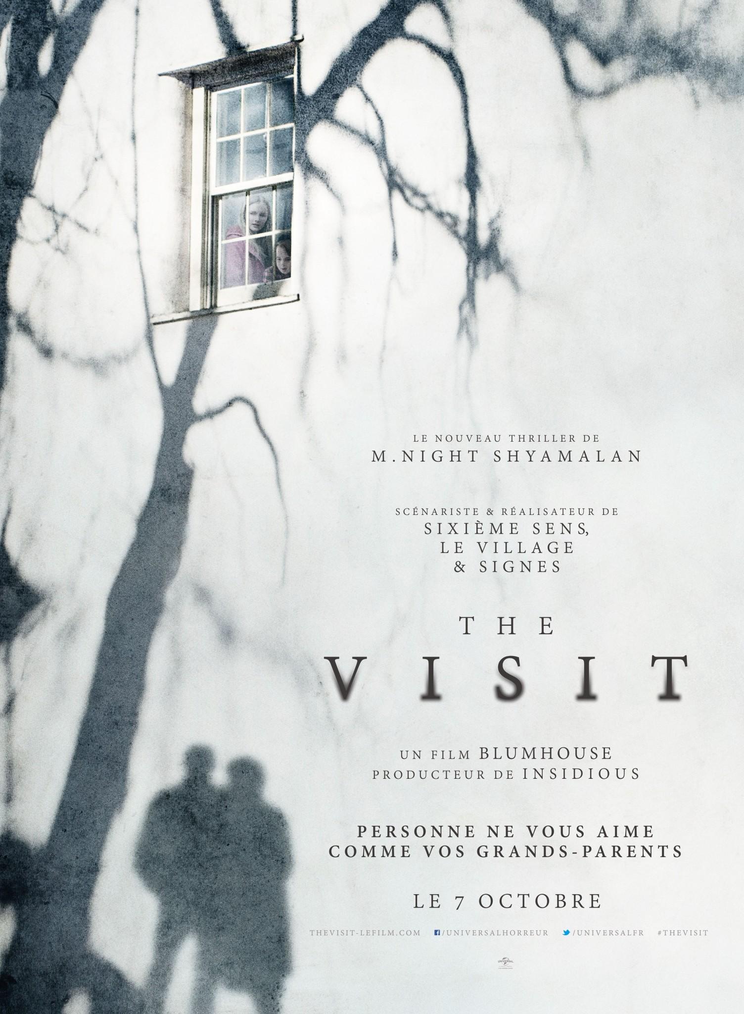 The Visit de M. Night Shyamalan - affiche film cinéma