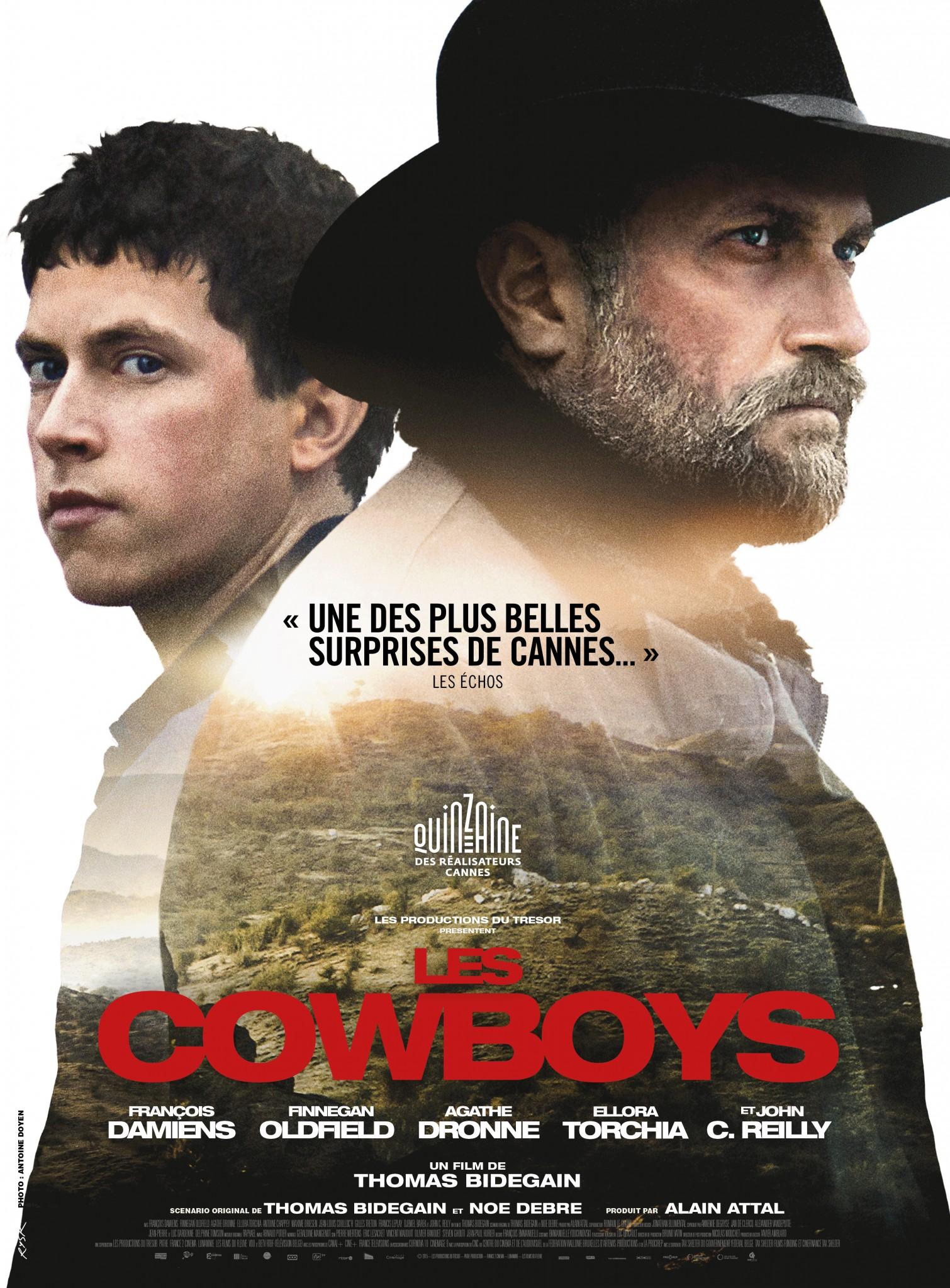 les cowboys - affiche