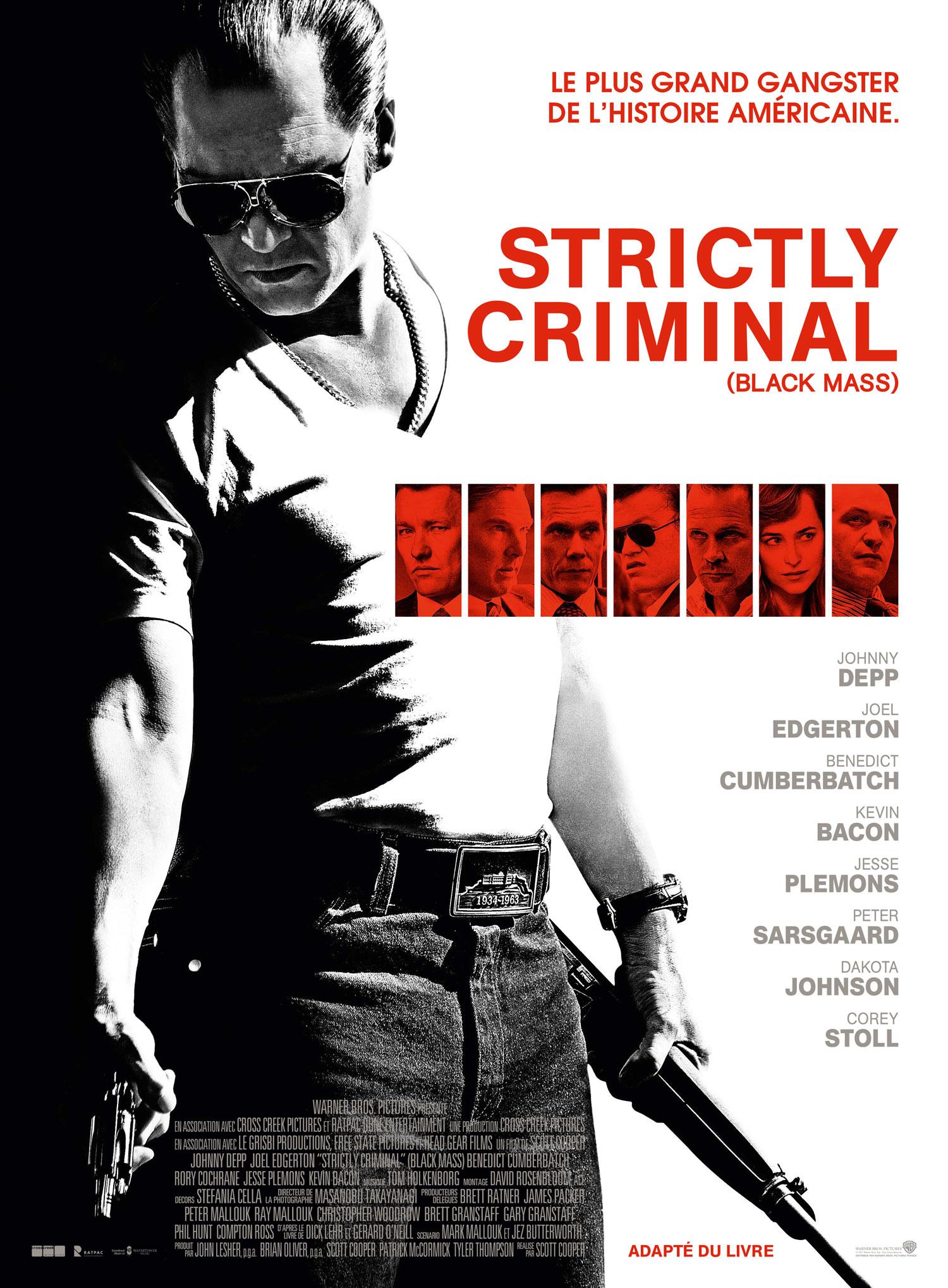Affiche Strictly Criminal