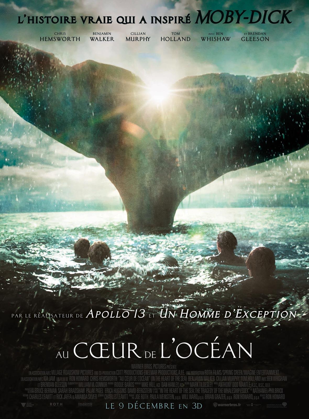 Au coeur de l'océan Affiche
