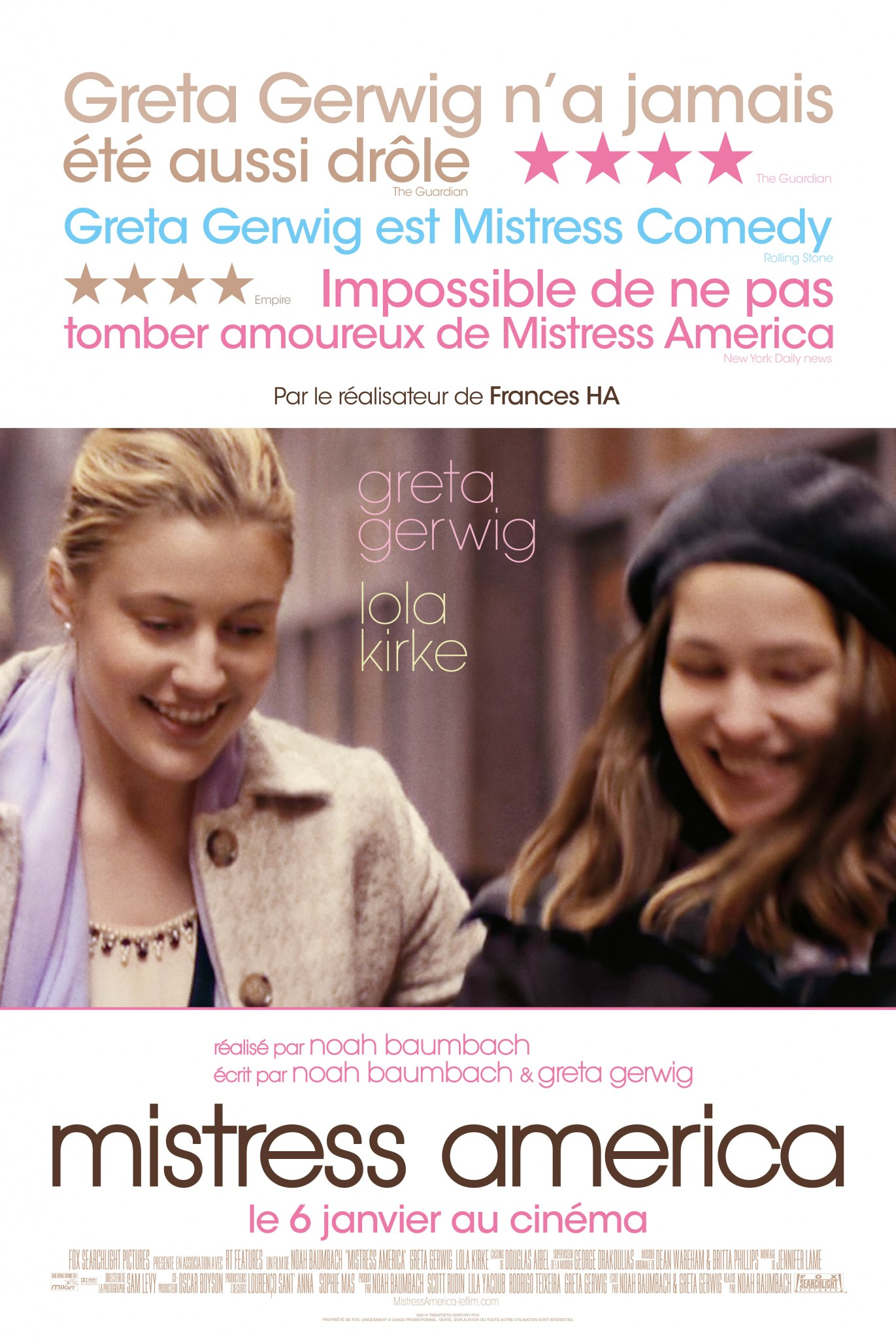 <i>Mistress America</i> (2015), le feel-good movie de ce début d'année 1 image