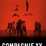 Cie XY - Il n'est pas encore minuit - affiche F Moreau