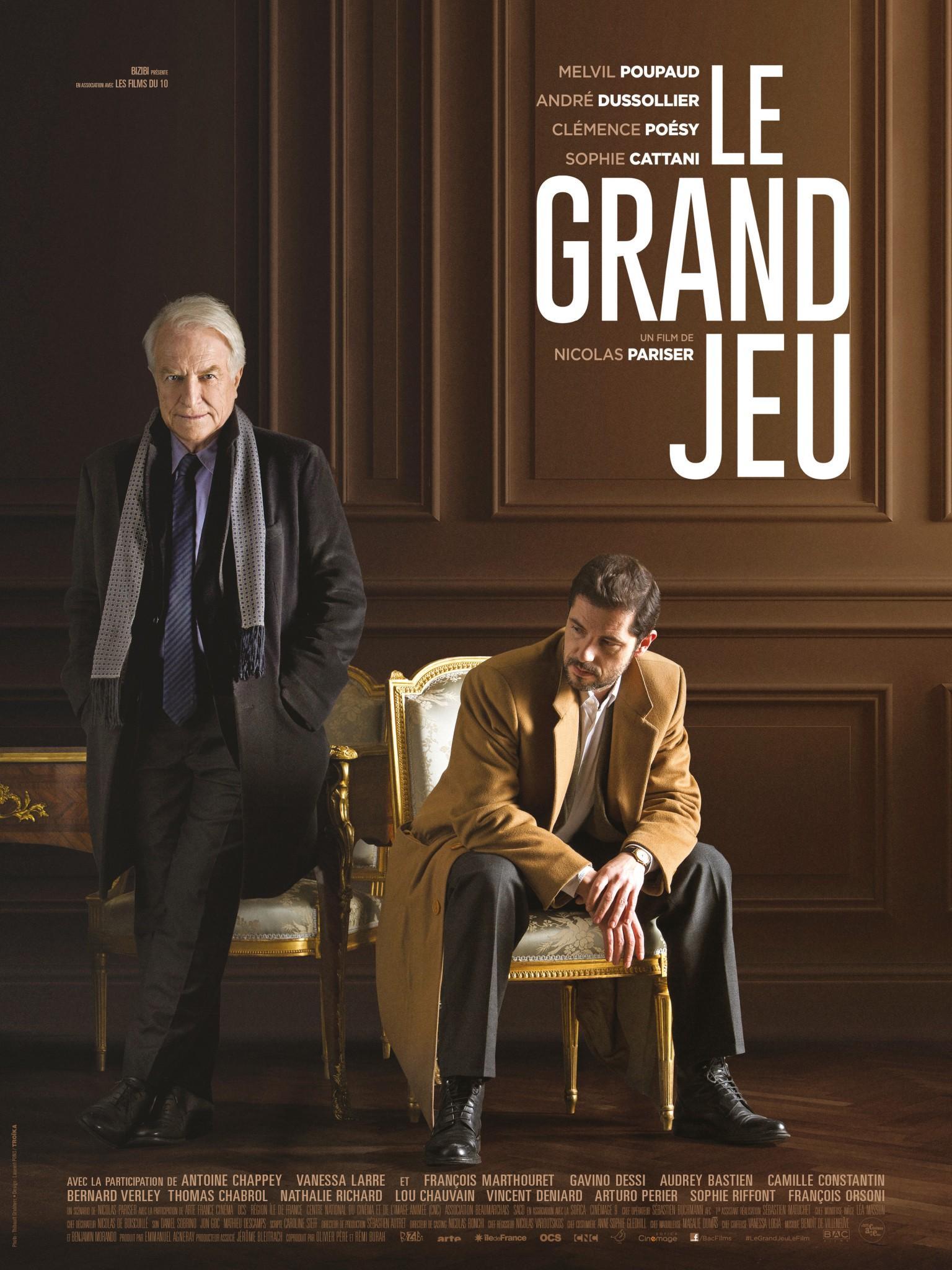 """Critique / """"Le Grand Jeu"""" (2015) de Nicolas Pariser 1 image"""