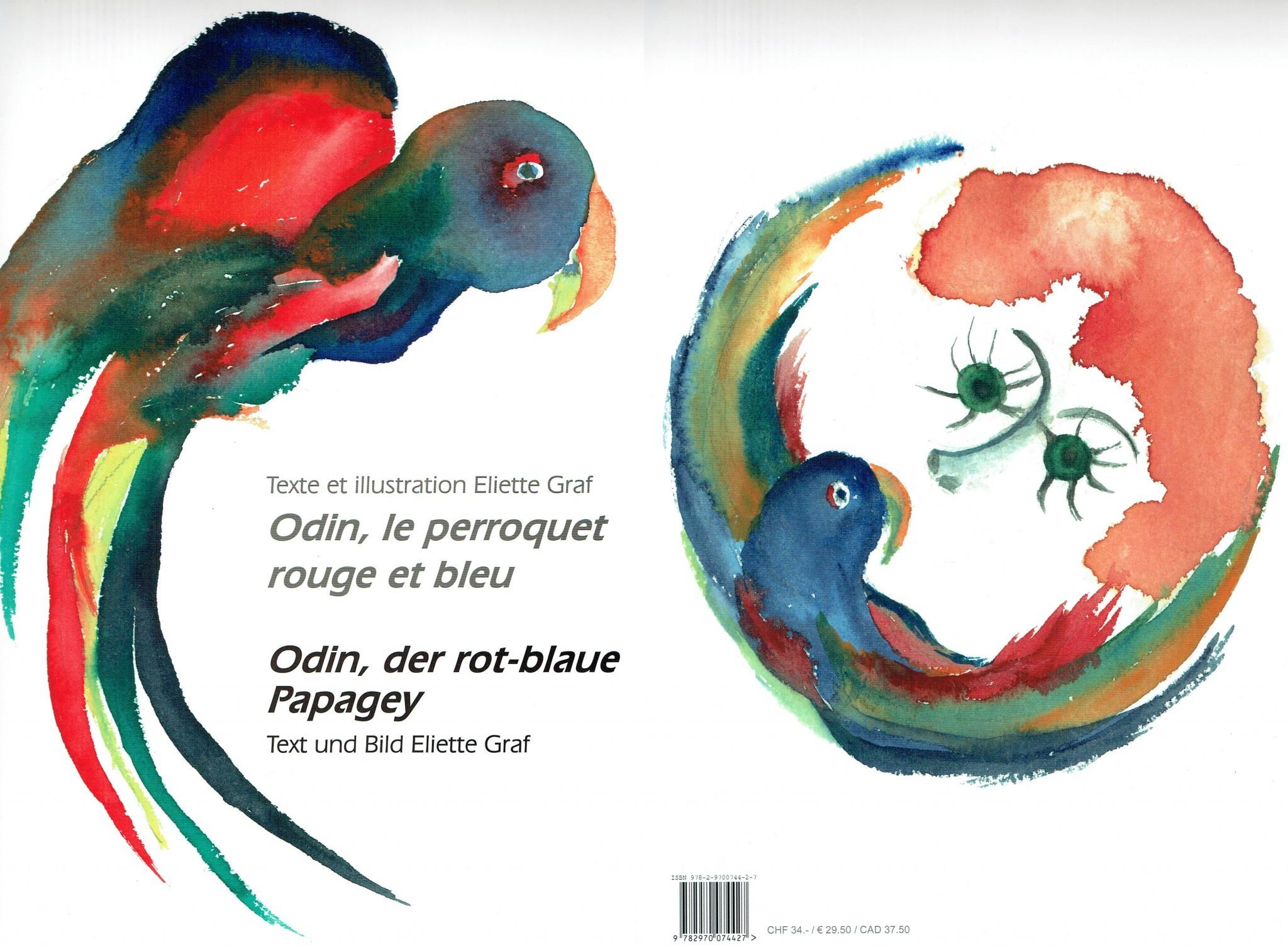 La Combe aux Ayattes - Le perroquet couverture