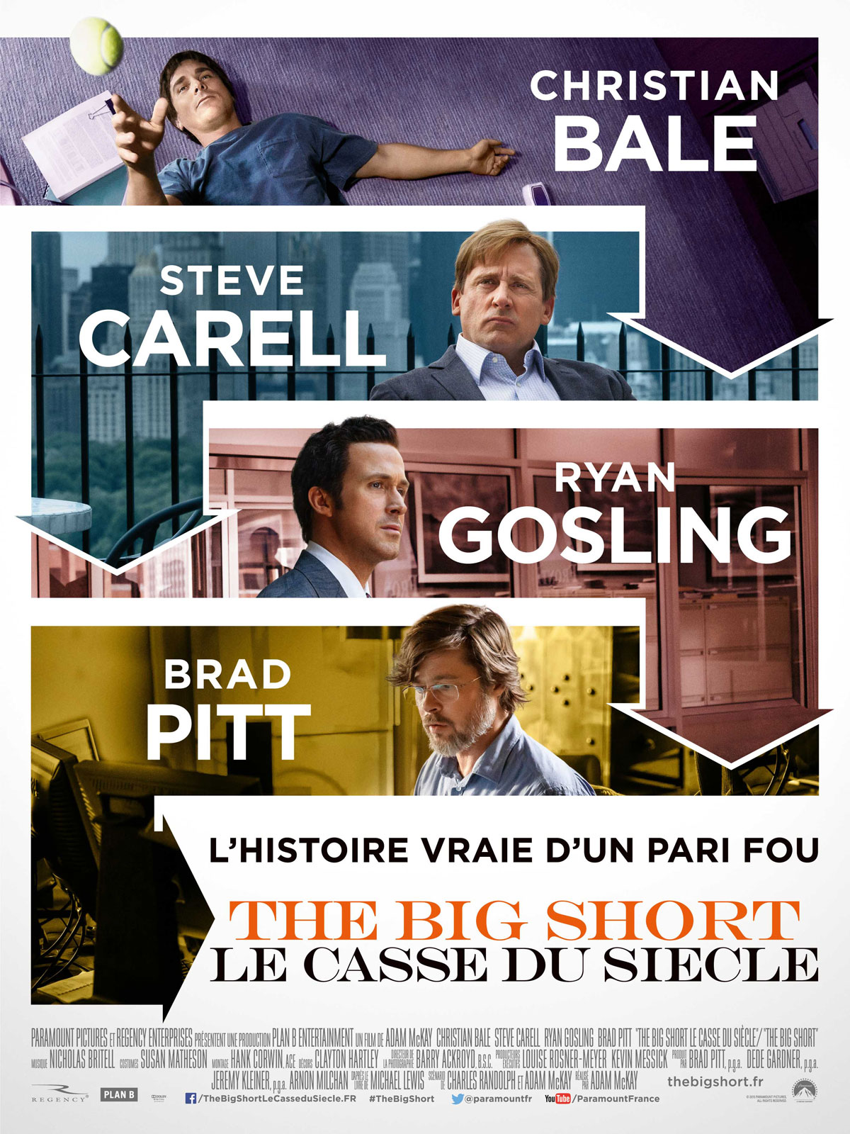 The Big short affiche