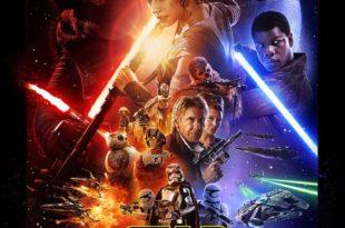 Star Wars - Le Réveil de la Force de J.J. Abrams affiche cinéma