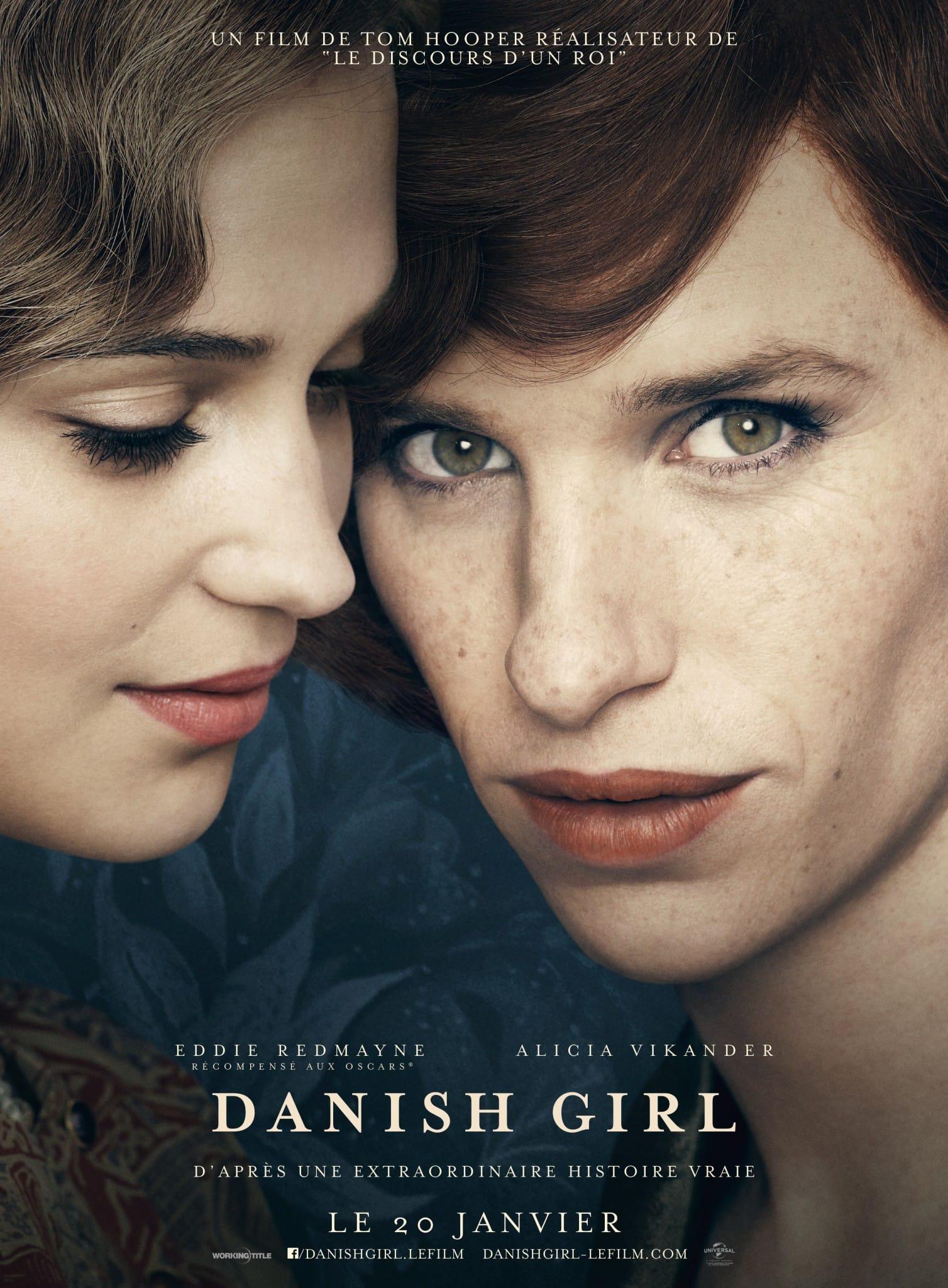 Danish Girl affiche