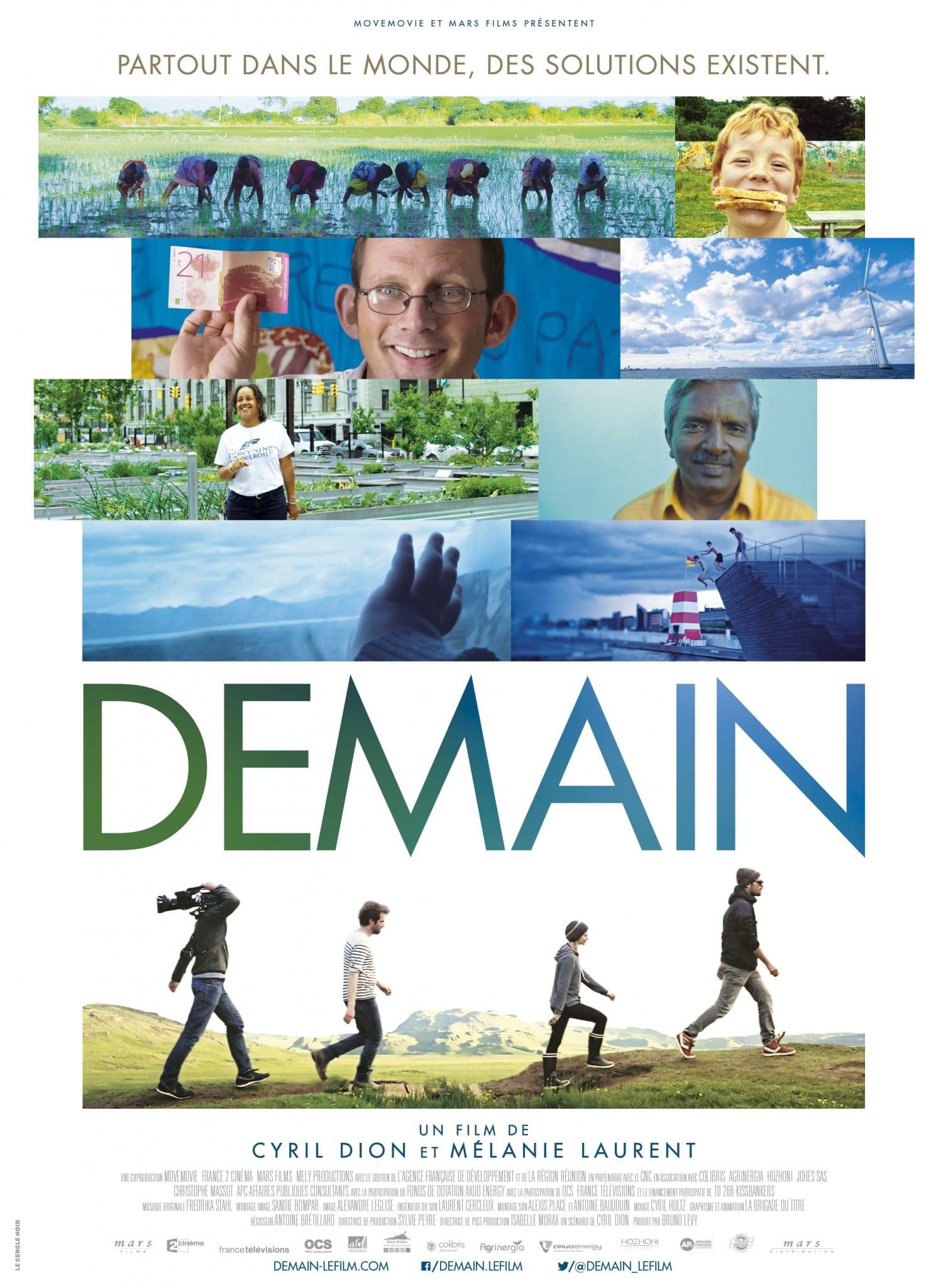 DEMAIN AFFICHE film cinéma documentaire