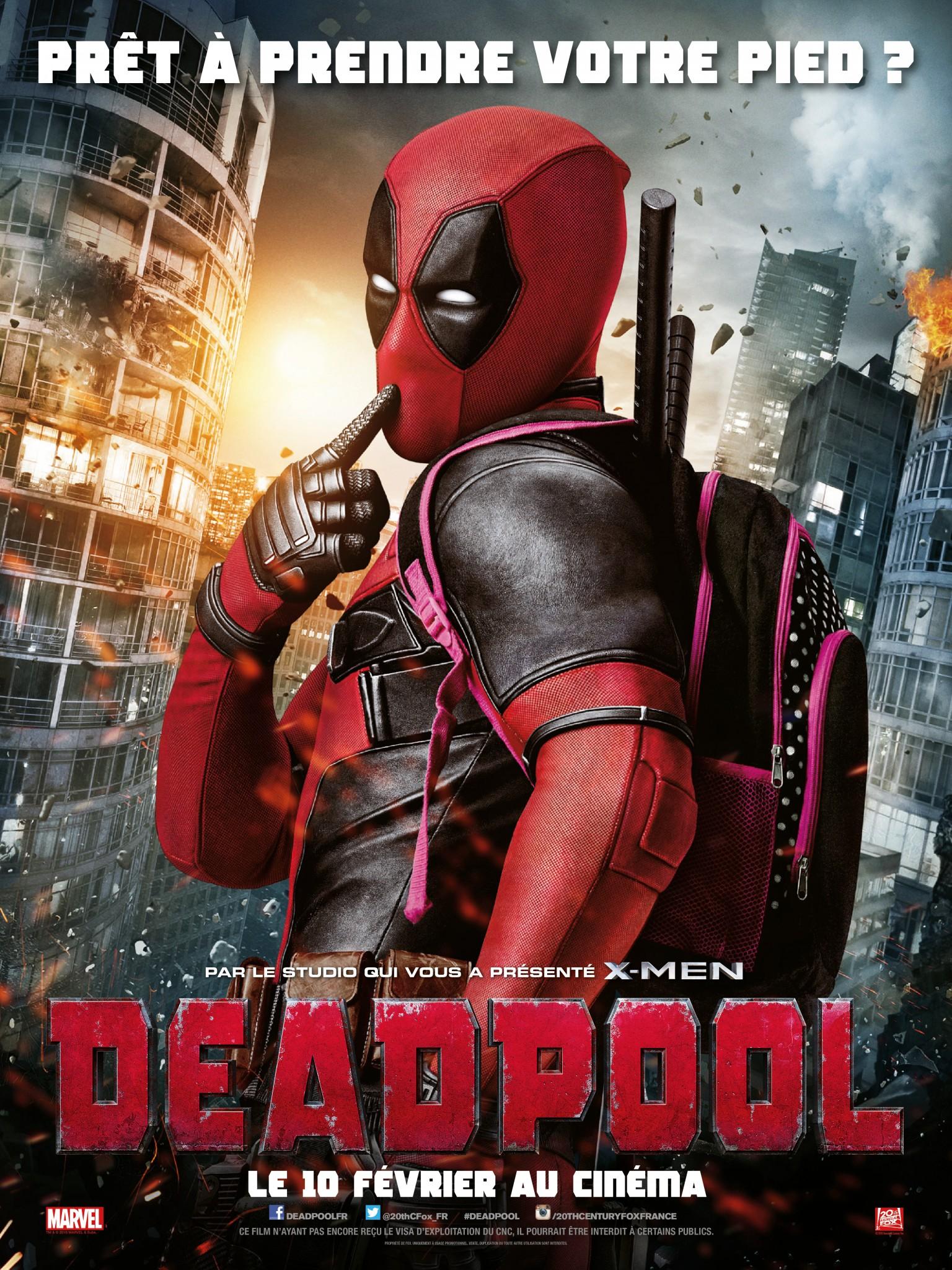 """Critique / """"Deadpool"""" (2016) casse la méta-baraque ! 1 image"""
