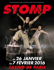 STOMP - affiche