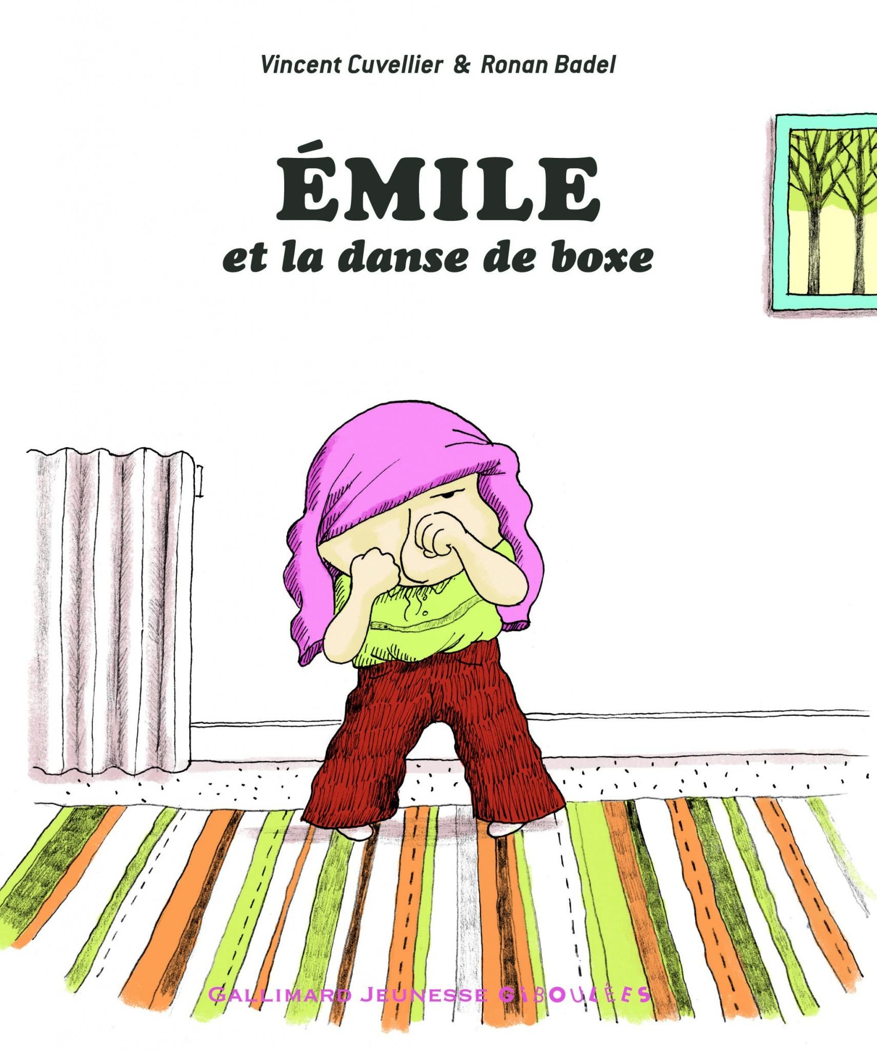 Emile et la danse de boxe - couverture