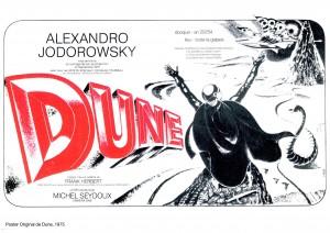 Jodorowsky's Dune_Poster Original de Dune, 1975