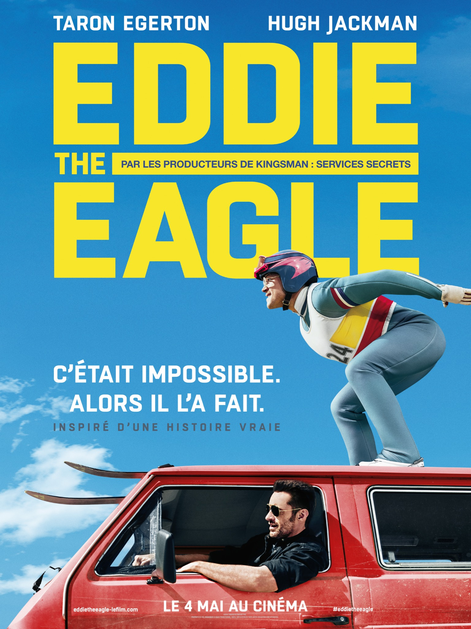 EDDIE THE EAGLE-affiche