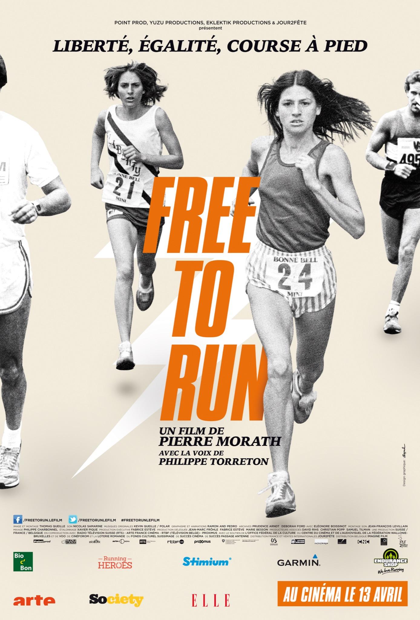Free to Run_affiche
