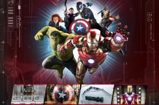 Marvel Avengers STATION PARIS - affiche
