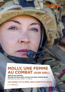 Molly une femme au combat - affiche