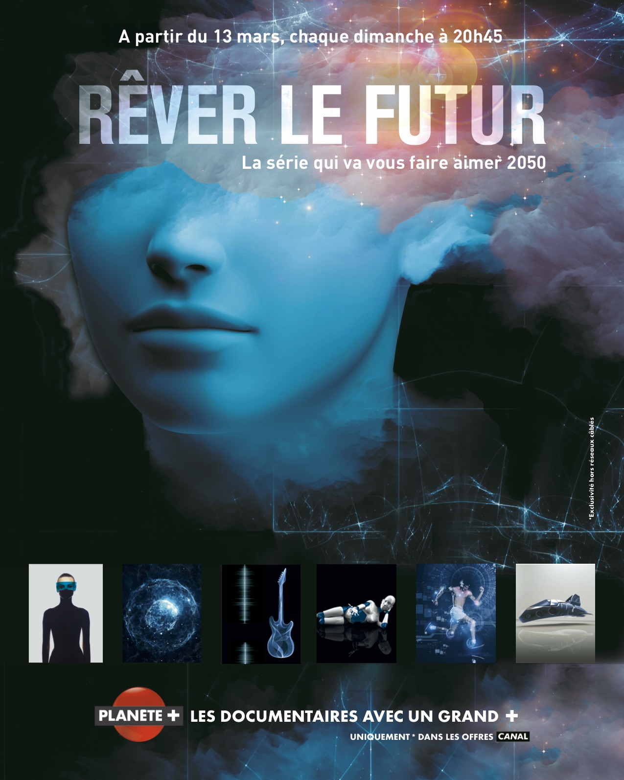 Rêver le futur - affiche série documentaire