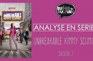 Unbreakable Kimmy Schmidt affiche Rhomin Bulles de Culture