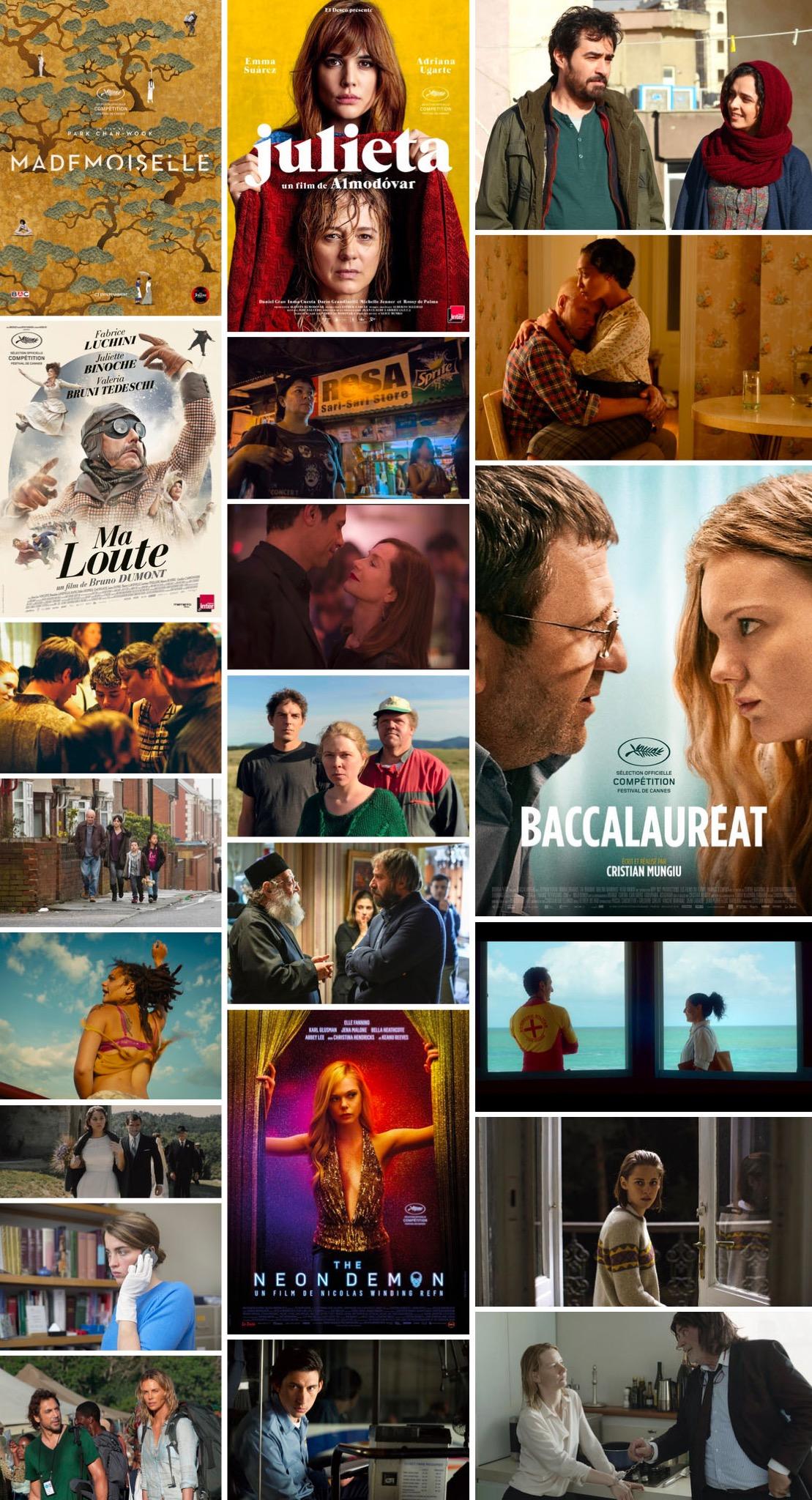 festival de cannes 2016 - films competition officielle