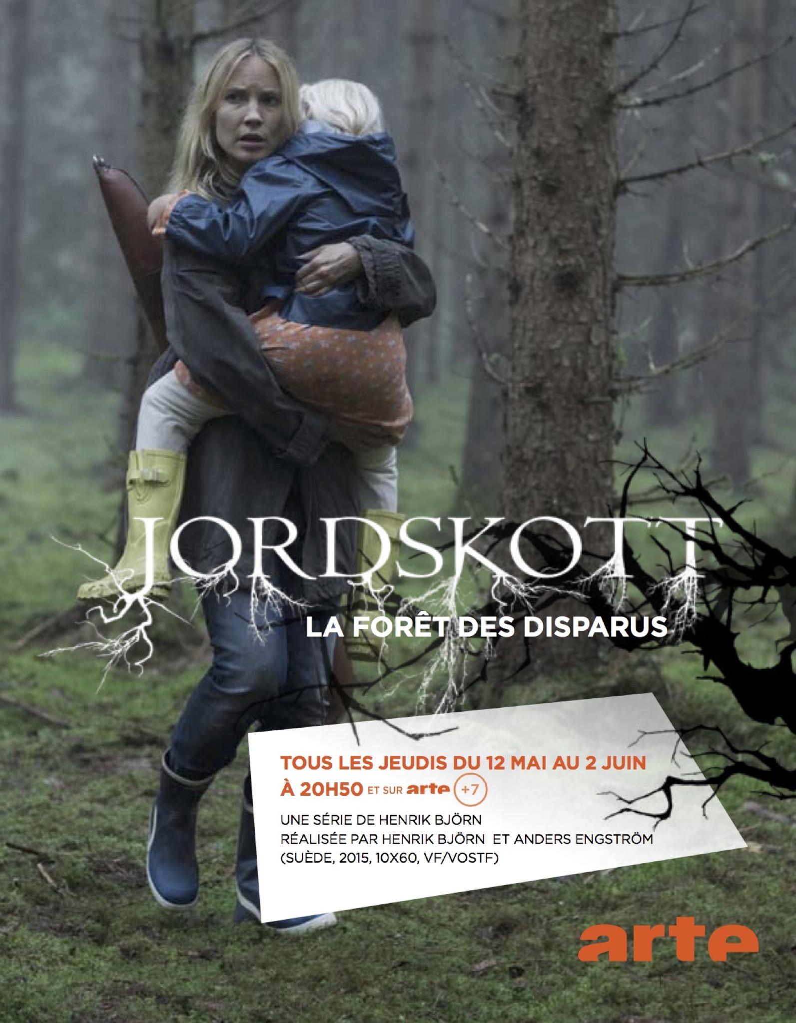 Jordskott la foret des disparus affiche