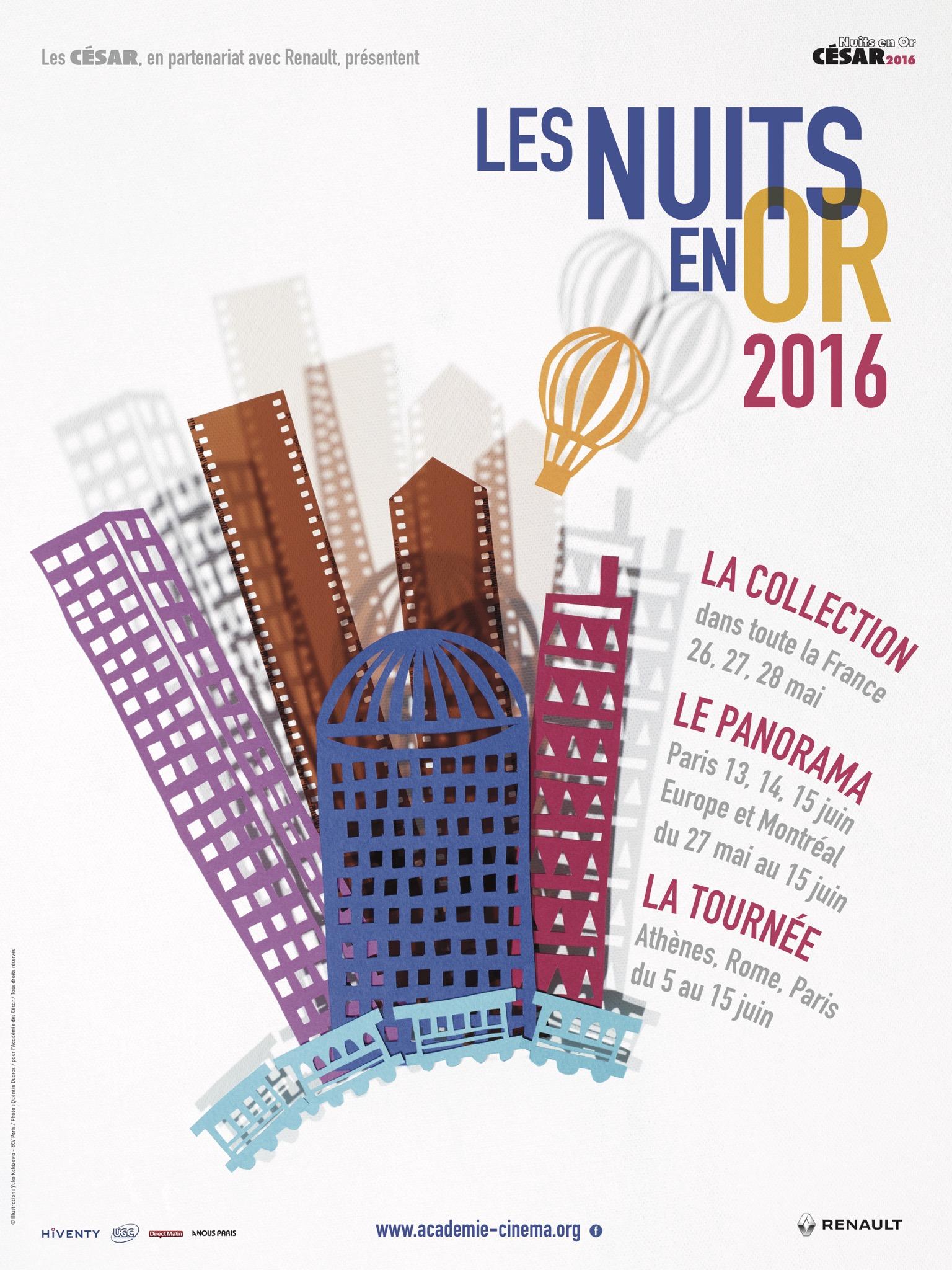 Les Nuits en Or 2016 affiche