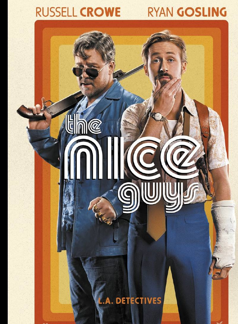 the nice guys affiche film cinéma