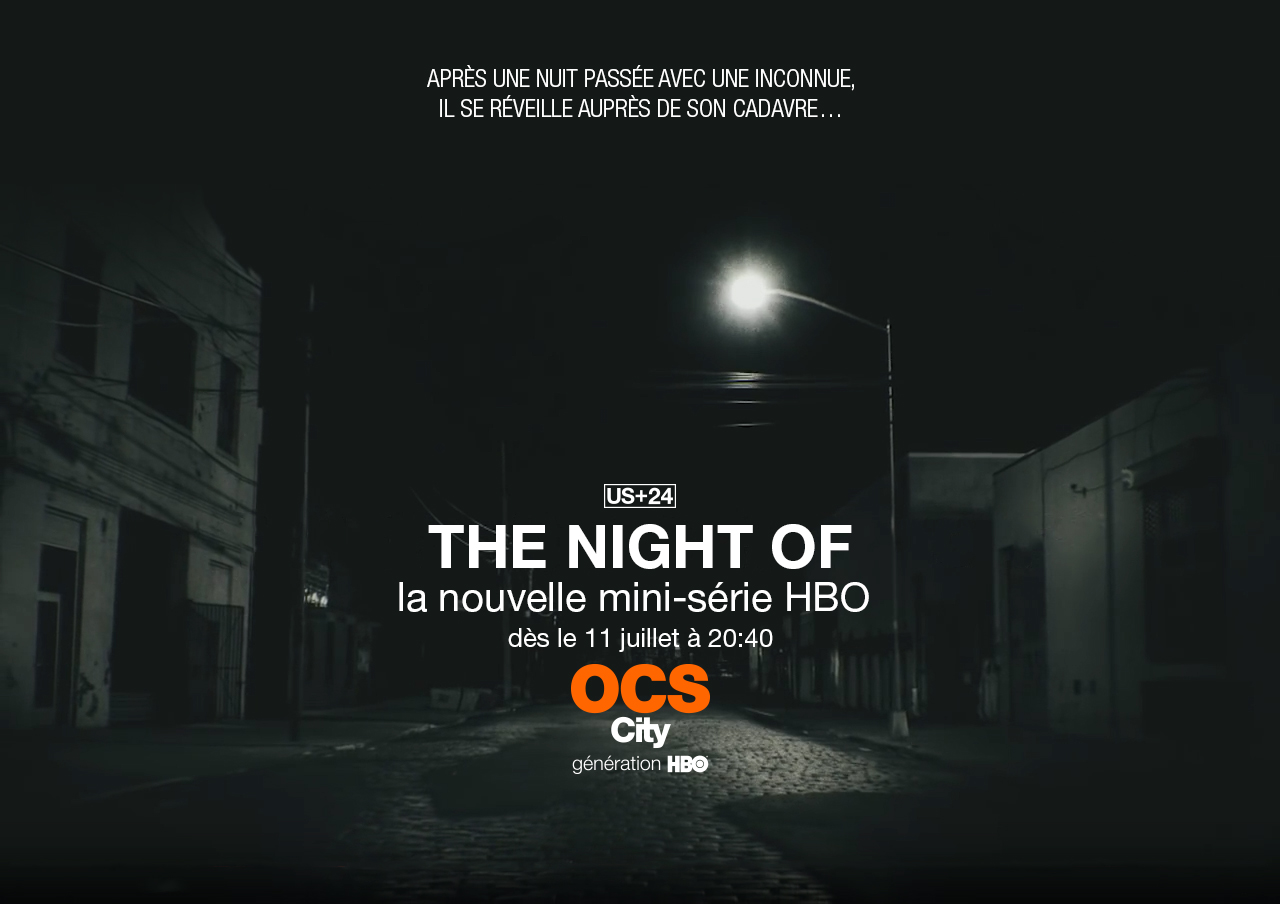 The Night Of affiche OCS City